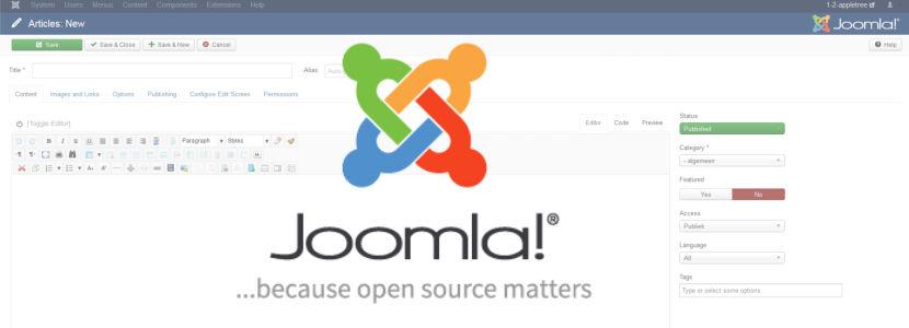 Joomla versie overzicht