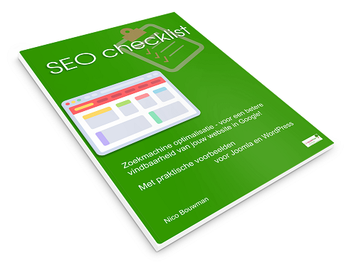 seo checklist book cover